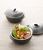 Navarin (lamb ragout, France) with vegetables