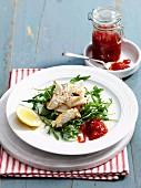 Char grilled squid chilli jam