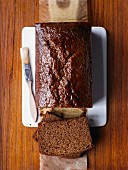 Ginger cake with golden syrup
