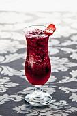 Berry Ice Granita