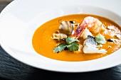 Cacciucco alla livornese (Fish soup, Italy)