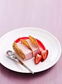 Strawberry almond fingers