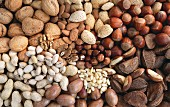 Assorted nuts (full-frame)