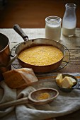 Ingredients for Making Southern Style Grits