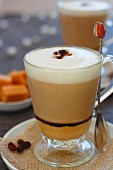 Caffè latte with advocaat