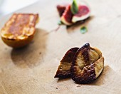 Sauteed duck liver with figs and brioche
