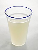 Glass of whey