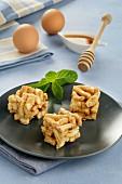 Sweet nut squares