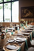 A Table Set for a Dining Event