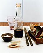 Shellfish, soy sauce and salt (Asia)