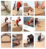 Spielpodest aus Holz für Zimmerecke selbermachen