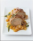 Pork fillet with prosciutto and sage
