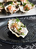 Oyster with dill