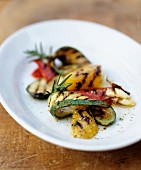 Chargrilled vegetables with rosemary and garlic