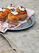 Vasterbotten cheese muffins