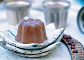 Carob pudding, Italy