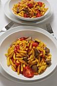 Gnocchetti sardi con la carne (Sardische Nudeln, Italien)