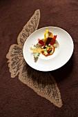 Potato and mushroom soup