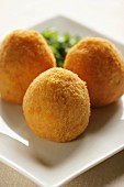 Arancini typical Sicilian croquettes, Italy