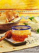 Elderflower honey