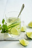 Woodruff punch with limes