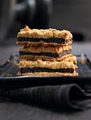 Puy lentil crumble cakes