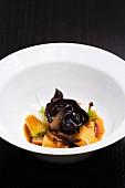 A Dish of Mushroom Pasta