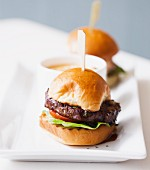 Steak Slider made with Kobe Beef