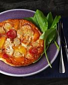 Vegetable tarte tatin