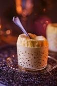 Christmassy cheesecake