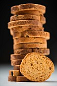 A stack of rusks