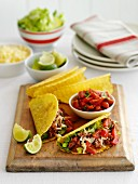 Spicy beef tacos (Mexico)