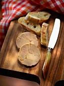 Alsatian foie gras with baguette