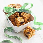 Toffee-rice bars for gifting