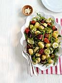 Chorizo Green Bean Salad