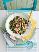 Griddled Courgette Couscous Salad