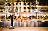 modern bar setting