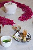 Matcha Tea Service