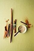 Cinnamon still life