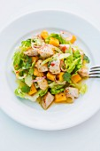 Turkey salad with mango