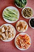 Libanesisches Frühstück