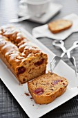 Teacake with candied fruits