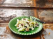 Waldorf salad with walnuts