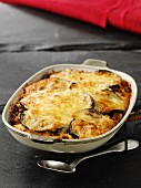 Moussaka in der Backform