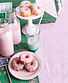Doughnuts mit Zuckerstreusel