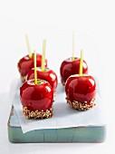 Tempting toffee apples