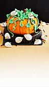 Enchanted pumpkin and mischievous mice
