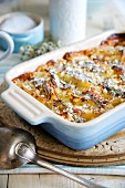 Anchovy gratin