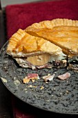 Meat pie with egg