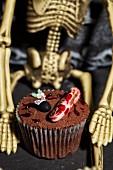 Cupcake für Halloween